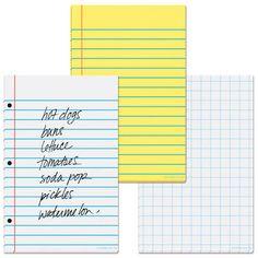Paper Note Memo Pads $3.99