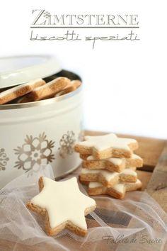 Zimtsterne biscotti speziati