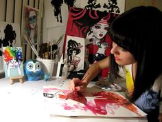 Art NuVogue: 10 Acrylic Painting Tips for Beginners