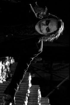 Heath Ledger's Joker - The Dark Knight Joker 2008, Joker Dc, Heath Ledger Joker, Joker Wallpapers, Dark Lord, Batman And Superman, Looks Cool, Dark Knight, Bad Boys