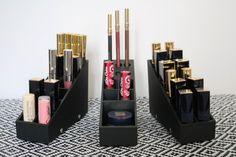 Adaptez votre rangement maquillage selon vos préférences ! Uniq Organizer est totalement adaptable, modulable et évolutif - www.uniqorganizer.com