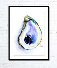 Hey, I found this really awesome Etsy listing at https://www.etsy.com/listing/219359319/oyster-shell-print-oyster-painting