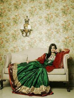 pakistani  indian  fashion  lehnga  bridal