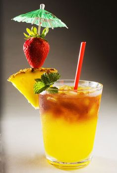 lava flow cocktail light rum coconut rum strawberries banana pineapple ...