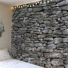 Stone Print Waterproof Wall Decor Tapestry -
