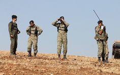 'ABD ve Türk askerleri Menbiç'te YPG araştırması yaptı'