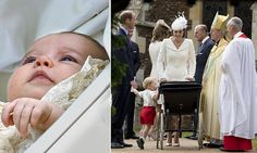 Click through for video. Kate Middleton and Prince William arrive for Charlotte's christening #DailyMail