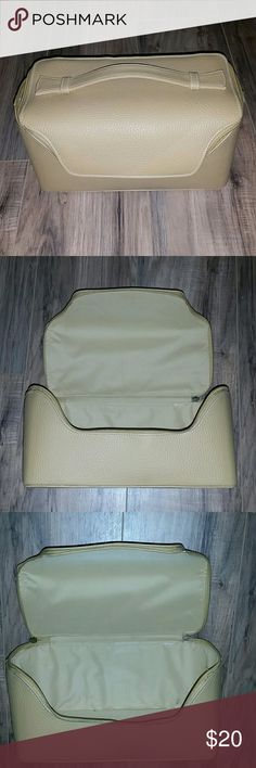 Travel Case Adorable mustard color zip close travel case. Could be used for undergarments, makeup, products, jewelry or emergency kit. I also have a matching weekender bag for sale that matches! Bundle to save and have the cutest set! Estee Lauder Bags