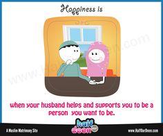 #HODDoodle #HalfOurDeen #Love Muslim Family, Marriage And Family, Hj Story, Cute Muslim Couples, Disney Wedding Dresses, Love In Islam, Hijab Bride, Wedding Hijab, Nigerian Weddings