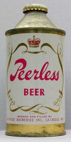 Peerless Beer Can