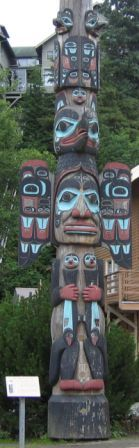 Totom Pole Parks.   Ketchikan has the world's largest collection of Totem Poles and they are easily found in the downtown area, in musuems, & totem parks!