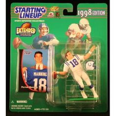 PEYTON MANNING / INDIANAPOLIS COLTS 1998 NFL * EXTENDED SERIES * Starting Lineup Action Figure & Exclusive NFL Collector Trading Card (Toy)  http://freegiftcard.skincaree.com/tag.php?p=B000PYYYJO  B000PYYYJO