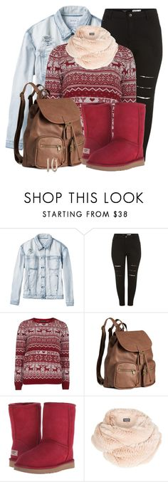 """#334"" by joana-raquel-26 ❤ liked on Polyvore featuring moda, RVCA, Dorothy Perkins, H&M, UGG Australia y Harrods"