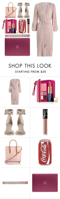 """4.953"" by katrina-yeow ❤ liked on Polyvore featuring Zimmermann, Estée Lauder, NARS Cosmetics, Christian Louboutin, Skinnydip, Natural Life and Incase"
