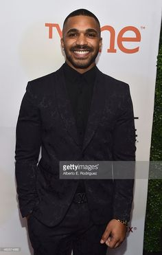 Actor Tyler Lepley attends the NAACP Image Awards presented by TV One at Pasadena Civic Auditorium on February 2015 in Pasadena, California. Gorgeous Black Men, Handsome Black Men, Beautiful Men Faces, Tyler Lepley, Jordan Knight, Renaissance Men, First Tv, Hollywood Actor, Male Face
