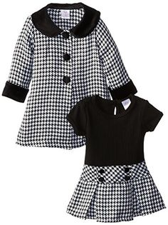 Houndstooth coat - so adorable!