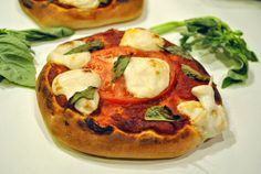 Margherita Pizza + Non dairy Moxarella cheese recipe