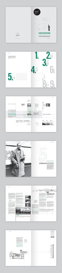 Editorial · Le Corbusier by Verónica De Fazio, via Behance