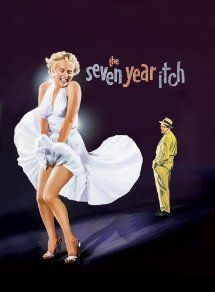 The Seven Year Itch (1955) with Marilyn Monroe, Evelyn Keyes and Tom Ewell