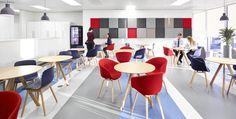 Brodies, Office Interior. Keppie Design, Furniture Installation by Tsunami-Axis. Image © David Cadzow