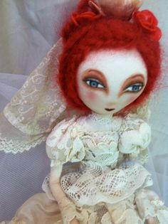 bride dolls by Jean Schroeder on Etsy