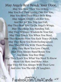 May Angels rest beside your door...  www.crosswounds.com