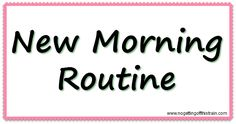 New morning routines can be tough, especially when you have kids. Here's what…