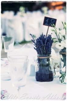 Schattig als deco Lavender Decor, Provence Lavender, Provence Wedding, Lilac Wedding, Diy Wedding, Trendy Wedding, Wedding Flowers, Wedding Ideas, Wedding Table