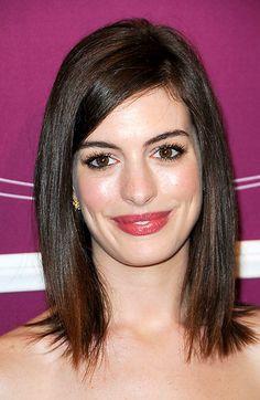 Anne Hathaway Hair Style