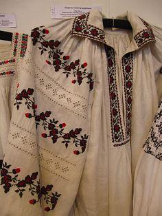 ♥ Ukraine, women's dress Ivan Honchar museum vyshyvanka