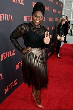 Get The Look: Danielle Brooks At the OITNB Netflix Premiere Event