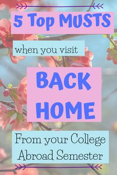5 Top Musts When you Visit your Home from College - The Traveling Choir Girl Go Hiking, Child Day, New Career, Have You Ever, Get Excited, Refreshing Drinks, What Is Life About, Study Abroad, Best Memories