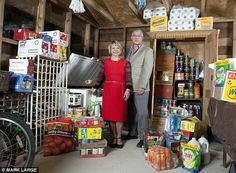 Stocking up for Doomsday: As economists predict meltdown, meet the families ready for the worst