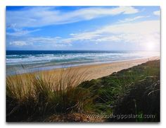 view of Anderson Inlet from Venus Bay, South Guppsland, Victoria, Australia