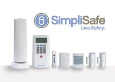 SimpliSafe Wireless Home Security System   Thanks Our Kid's Mom!!!!