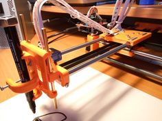 Zi3d 3D printed Drawing machine by Misan