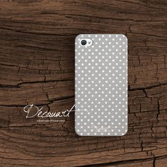 Dots iPhone 4 case iPhone 4s case polka dots S249 by Decouart, $26.99
