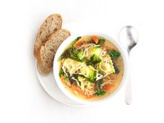 Get this all-star, easy-to-follow Ravioli and Vegetable Soup recipe from Food Network Kitchen