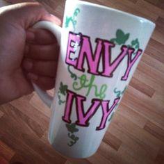 Envy the Ivy mug #followprettypearlsinc AKA 1908
