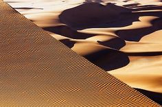 Wind tracks in dunes in the Namib Desert