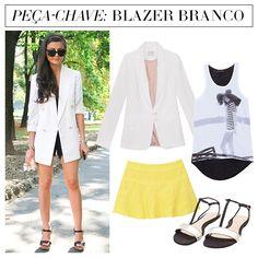 Compre moda com conteúdo, www.oqvestir.com.br #Fashion #Look #Street #Style #Pretty #Blazer