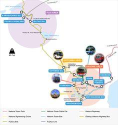 Fuji Hakone Pass   Economical Excursion Tickets   Odakyu Electric Railway