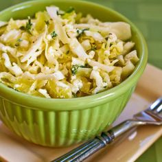 GREEK CABBAGE SALAD WITH FETA & THYME: This cabbage salad takes a Mediterranean twist with feta cheese added.   #GreekRecipes #Cabbage #Feta #salad