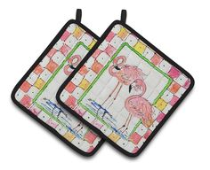 Bird - Flamingo Potholder
