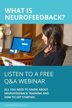 Learn More About NeurOptimal® Neurofeedback! Watch Our 40 Minute Q&A Webinar With Natalie Baker, NYC Therapist, Advanced NeurOptimal® Trainer And Founder Of Neurofeedback Training Co.. Questions That Are Addressed Include: How NeurOptimal® neurofeedback works The benefits, how to track improvements, and how many sessions are needed. How is this technology different from other systems? Conditions that are helped with NeurOptimal® + more! Pasadena Los Angeles, Certified Trainer, Brain Waves, Brain Training, Stress Relief, Clinic, Health And Wellness, Therapy, Track