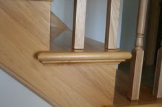 Prefinished Hickory Stair Tread   Hickory Is The Hardest And The Strongest  American Wood. Hickory Heartwood Is Pale To Reddish Brown While Sapwood U2026