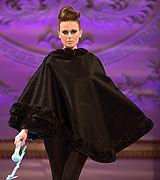 Loula Loi Alafoyannis 2013가을꾸뛰르#패션위크#패션쇼#뉴욕#모델#케이프#븡엑#퍼 #실크
