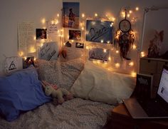 Dream Rooms Cozy - Decoration Home Room Ideas Bedroom, Bedroom Decor, Bedding Decor, Blue Bedding, Dream Rooms, Dream Bedroom, Master Bedroom, Comfy Bedroom, Cute Room Decor