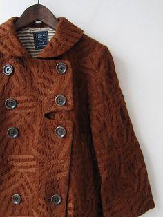 Mina Perhonen + luminous brown, texture, collar