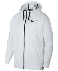 e9178f5841dd Nike Men s Therma Training Full Zip Hoodie - White S